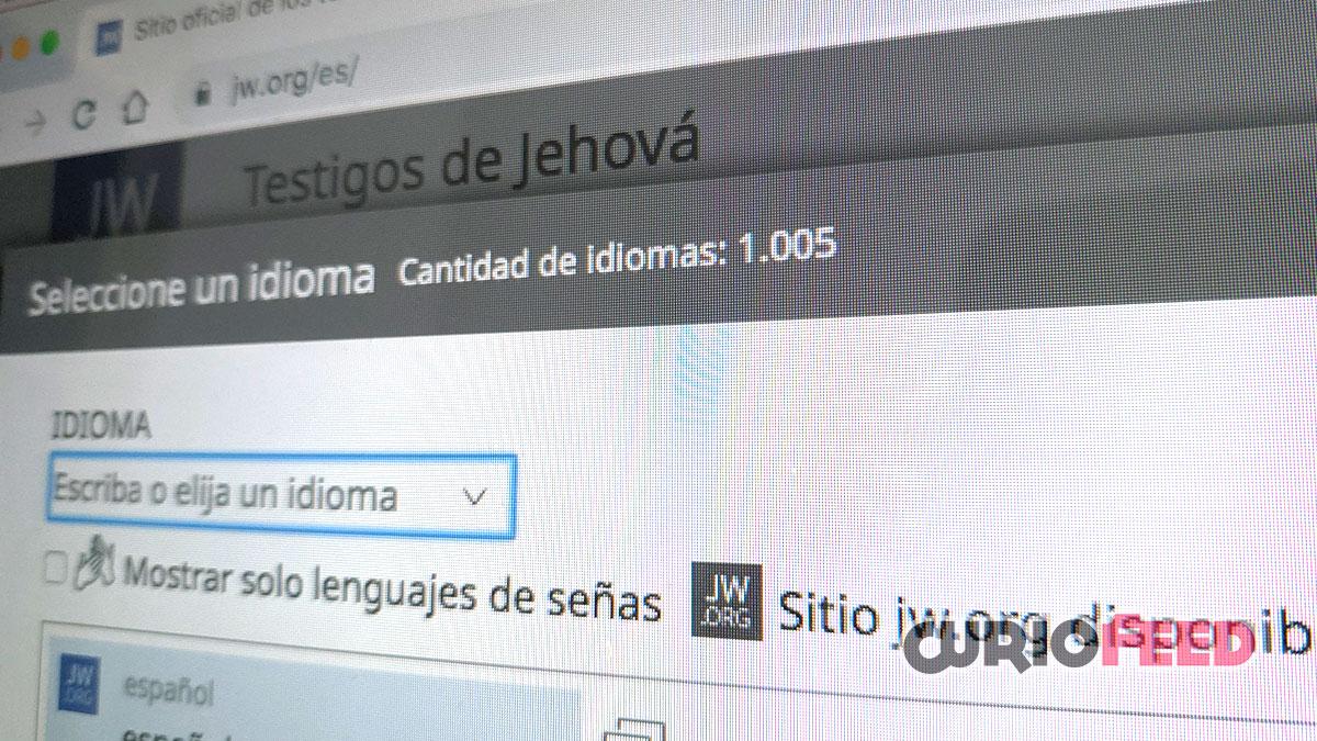 web con 1005 idiomas
