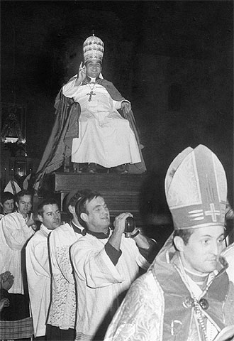 el papa clemente de la iglesia del palmar