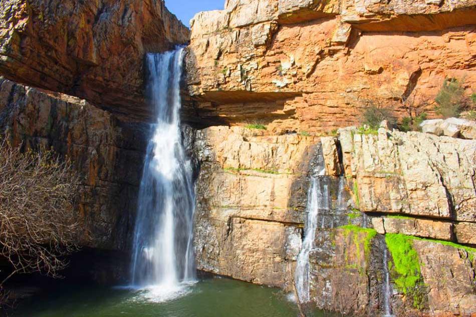 cascada de la cimbarra jaen