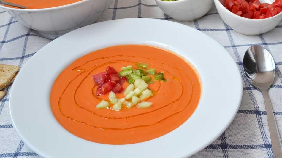 receta gazpacho andaluz monsieur cusine