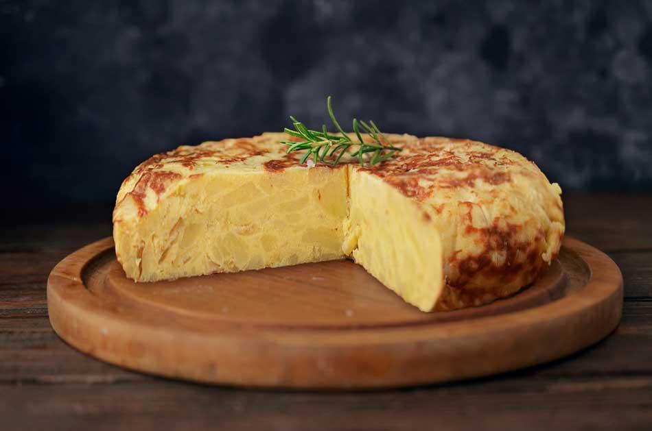 tortilla de patatas monsieur cusine