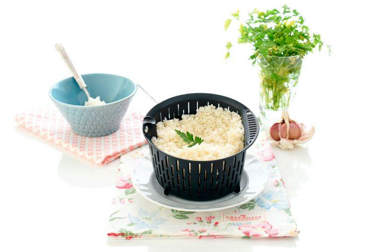 arroz blanco vaporizado monsieur cuisine