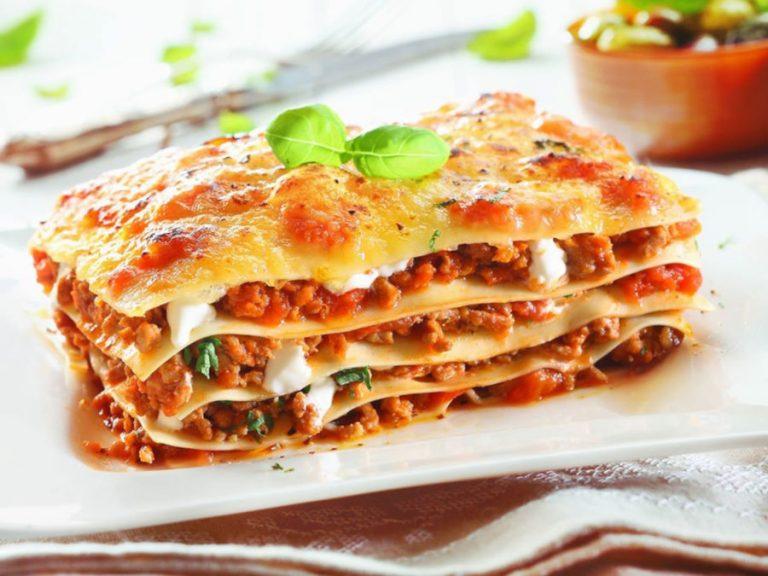 Receta lasaña monsieur cuisine